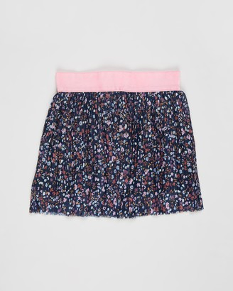 Eve's Sister - Girl's Blue Mini skirts - Blossom Mesh Skirt - Kids - Size 3 YRS at The Iconic
