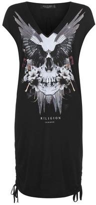 Religion Skull Dress Womens