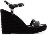 Valentino Garavani Rockstud 120mm espadrille wedge sandals