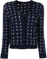 Samantha Sung embroidered buttoned cardigan