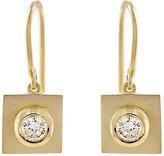 Irene Neuwirth Diamond Collection Women's White Diamond & Yellow Gold Square-Drop Earrings