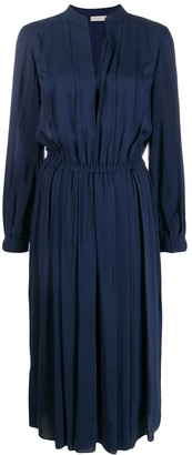 Tory Burch Pleated Tunic Dress