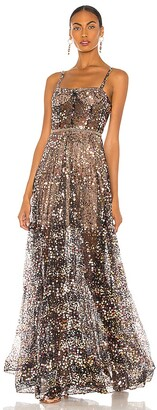 Bronx and Banco Midnight Noir Gown