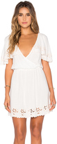 MinkPink White Shadows Dress