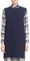ADAM by Adam Lippes Women's Rib Knit Stretch Cashmere Tunic