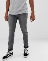 Cheap Monday tight skinny jeans in gray