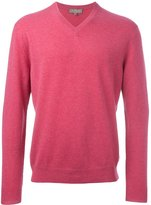 N.Peal 'The Burlington' V Neck jumper