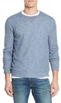 Grayers Men's Stripe Double Knit Crewneck Sweater