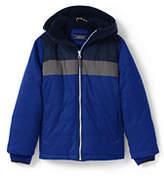 Lands' End Boys Fleece Lined Jacket-Brilliant Cobalt