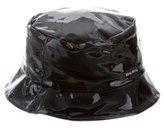 Miu Miu Patent Leather Bucket Hat