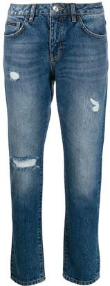 Philipp Plein Statement boyfriend jeans