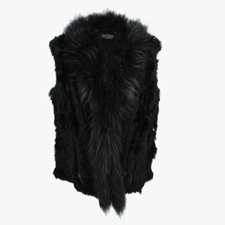 Jayley Kim 3 Black Fur Gilet