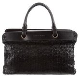 Bottega Veneta Leather Sequined Satchel