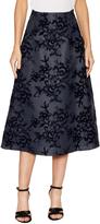 Carolina Herrera Women's Silk Embroidered Midi Skirt