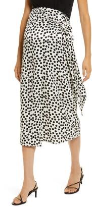Topshop Spot Print Maternity Sarong Skirt