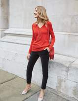 Boden Cashmere Relaxed V-neck Jumper