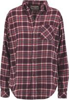 Current/Elliott The Prep School plaid cotton shirt