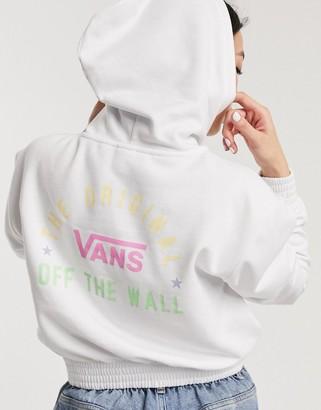 Vans Sponsorship hoodie in white