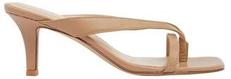 Sandler Madrid Camel Glove Sandals