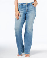 INC International Concepts Plus Size Bootcut Jeans, Only at Macy's