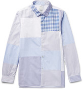Visvim - Long Rider Patchwork Cotton-poplin Shirt