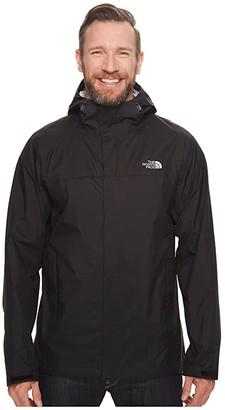 The North Face Venture 2 Jacket Tall (TNF Black/TNF Black) Men's Coat