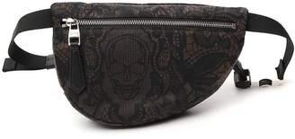 Alexander McQueen Graphic Printed Belt Bag
