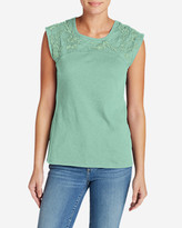 Eddie Bauer Women's Daybreak Embroidered Top