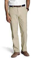 Classic Men's Seersucker Pants-Khaki Tan Stripe