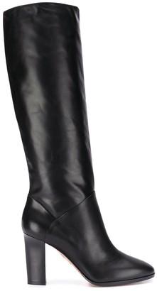 Aquazzura Chunky Heel Boots