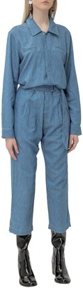 7 For All Mankind Utility Belted Jumpsuit
