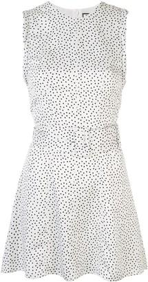Alexis Short Polka Dot Print Dress