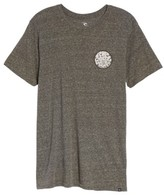 Rip Curl Men's The Wettie Slubbed Logo Graphic T-Shirt