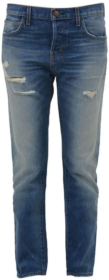 Current/Elliott Distressed-effect Jeans