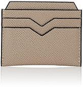 Valextra Women's Card Case-GREY