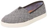 Toms Avalon Geometric Linen Slip-On Sneaker
