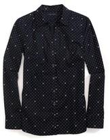 Tommy Hilfiger Final Sale-Long Sleeve Pindot Shirt
