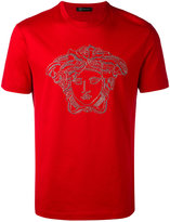 Versace Medusa head Swarovski t-shirt - men - Cotton - S