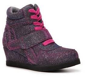 Steve Madden Hamlit Girls Youth High-Top Wedge Sneaker