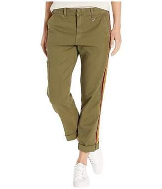 Joe's Jeans The Ankle Velvet Trousers (Dark Olive) Women's Casual Pants