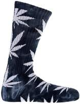HUF Men's Tie Dye Plantlife Crew Socks