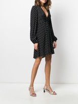 Pinko polka dot print dress
