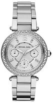 Michael Kors Ladies Mini Parker Stainless Steel Watch