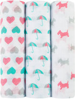 IDEAL BABY ideal baby by the makers of aden + anais 3-pk. Swaddle Blankets