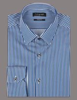 Marks and Spencer Supima® Pure Cotton Striped Shirt