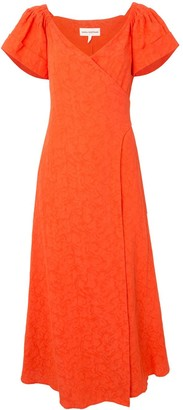 Mara Hoffman Adelina wrap maxi dress
