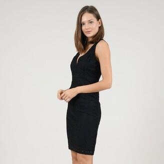 Molly Bracken Sleeveless Bodycon Mini Dress with Low Back