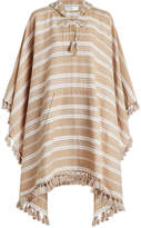 Zimmermann Tulsi Ticking Stripe Poncho