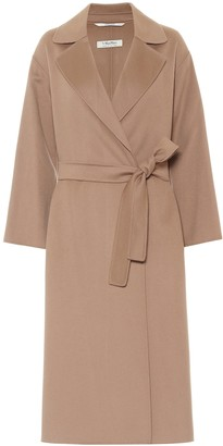 S Max Mara Elena belted virgin-wool coat