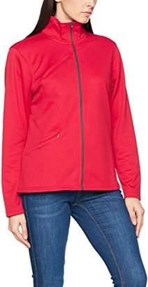 James Harvest Women's Gladston Full Zip Fleece Jacket Plain Turtleneck Long Sleeve Jacket,(Manufacturer Size:XXL)